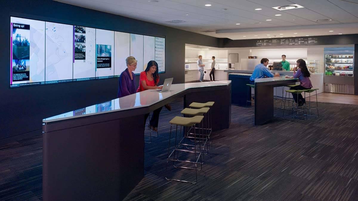 Café und Arbeitsbereich in einem - das WorkCafé